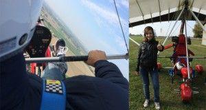 Chiusura adrenalinica con un volo in deltaplano!