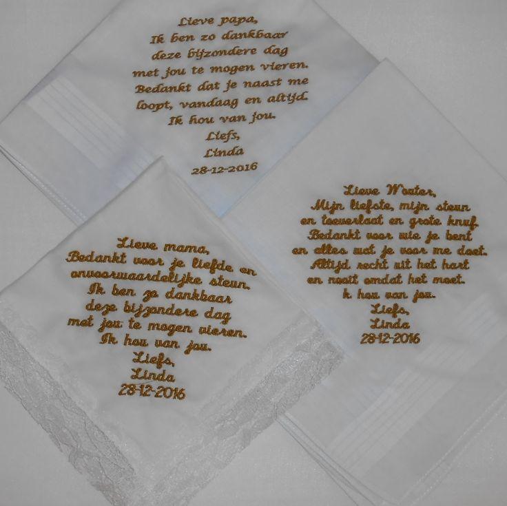 28-12-2016 wedding zakdoekjes