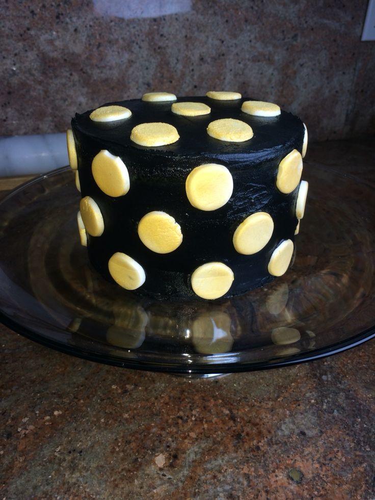 Dot Birthday Cake