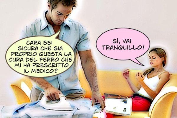 Vignetta: La cura del ferro!