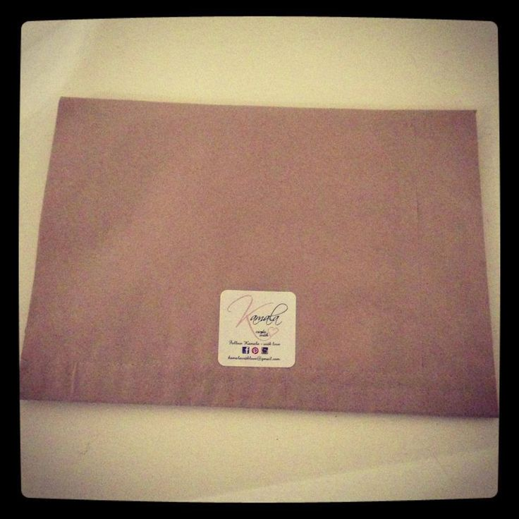 Order bags with business sticker label
