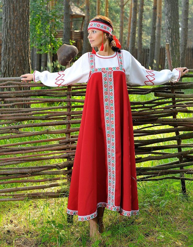 Косоклинная модель русского сарафана