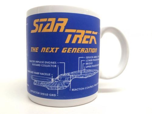 8 best starbucks mugs vintage and collectible images on pinterest star trek next generation uss enterprise nc 1701 d blueprint coffee mug totally malvernweather Image collections