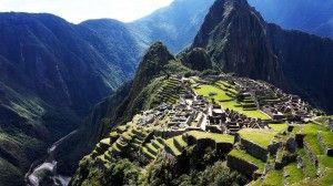 The lost city of Inca, Machu Picchu, Peru. The most popular travel destination in Peru!