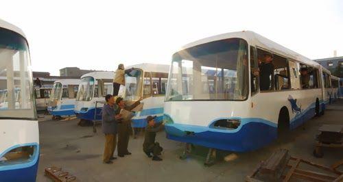Desarrollo del transporte público. 2013