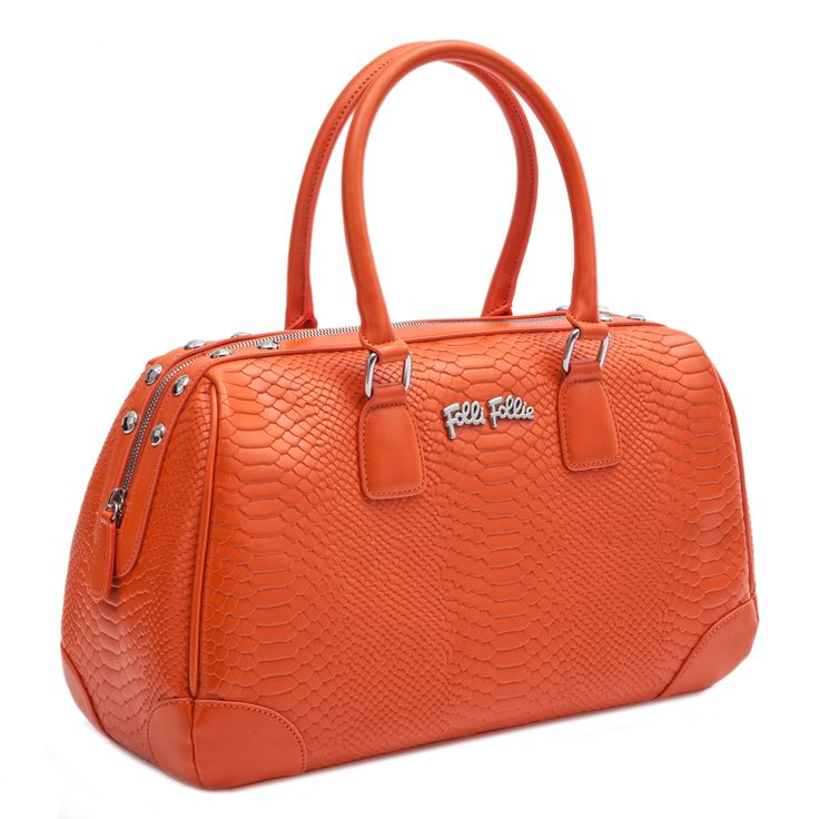 FOLLI FOLLIE - Γυναικεία τσάντα Folli Follie πορτοκαλί