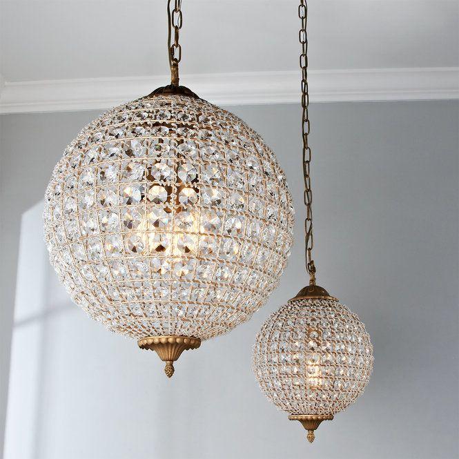 Timeless Grandeur Crystal Orb Chandelier With Images Orb