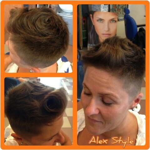 Look corto accattivante by Alex Style!  #capelli #hair #hairstylist #parrucchiere #acconciatore #clienti #trends #look #taglio #beauty #haircut