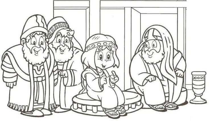 Coloring Pages Boy Jesus In The Temple : Best nieuwe testament images on pinterest bible