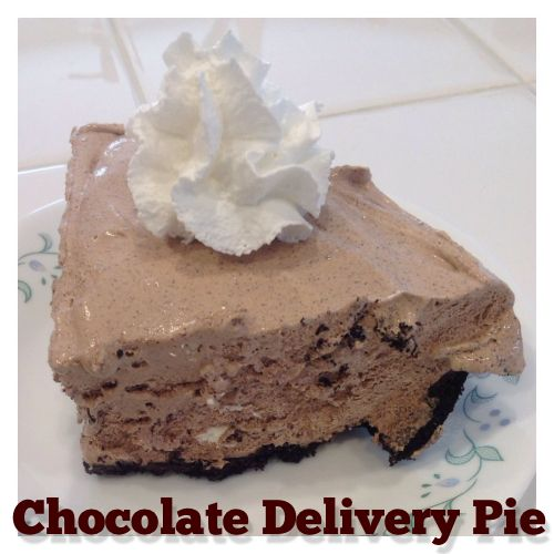 Chocolate Delivery Pie (AKA labor-inducing ideas) » Jill Will Run