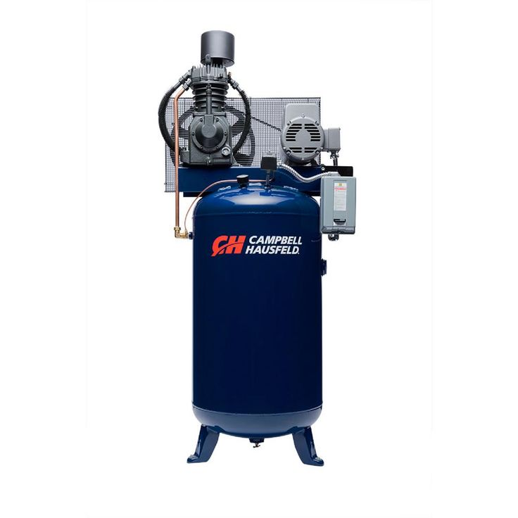 80 Gal. Electric Vertical Two Stage Stationary Air Compressor 25CFM 7.5HP 208-230V 1PH (TF211201AJ)