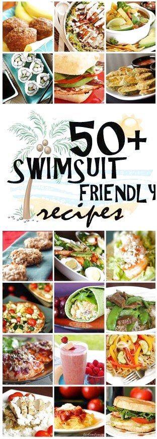 50 badeanzugfreundliche Rezepte #WeightlossCarbohydrates klicken für mehr.  – W…