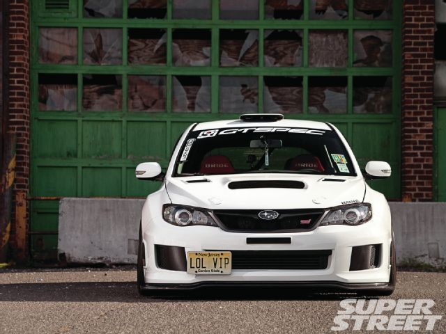 2008 Subaru WRX STI 2011 Front End Conversion