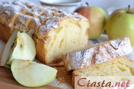 przepis na babkę z jabłkami
