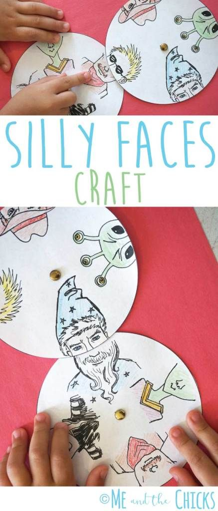 Foolish Faces Paper Craft for Youngsters