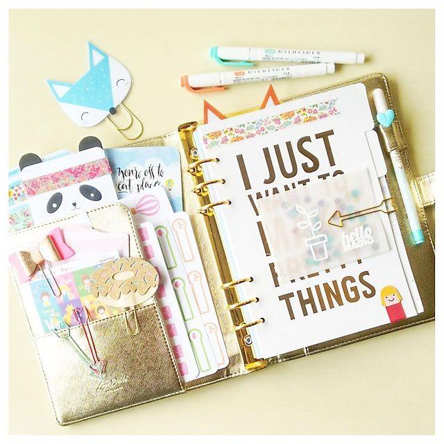 Ideas for using some of your Happie Planner Kit supplies / Ideas para usar tus artículos de tu kit de Happie Scrappie