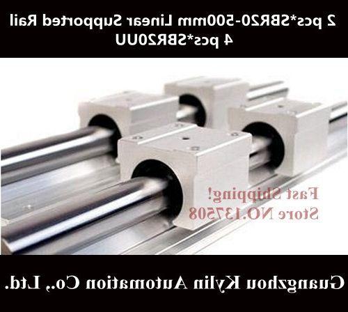 38.00$  Buy now - https://alitems.com/g/1e8d114494b01f4c715516525dc3e8/?i=5&ulp=https%3A%2F%2Fwww.aliexpress.com%2Fitem%2FHot-Sale-2-pcs-SBR20-500mm-linear-bearing-supported-rails-4-pcs-SBR20UU-bearing-blocks-sbr20%2F1773495404.html - Best Price! 2 pcs SBR20 500mm linear bearing supported rails+4 pcs SBR20UU bearing blocks,sbr20 length 500mm for CNC parts