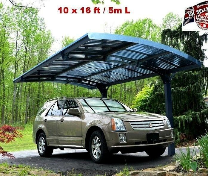 Pingrann Structu Outdoor Carport Dcanopy Garage Canopy Heavy Shed Duty Car Pingrann Heavy Duty Car Shed Outdoor Ca In 2020 Car Shed Garage Canopies Carport