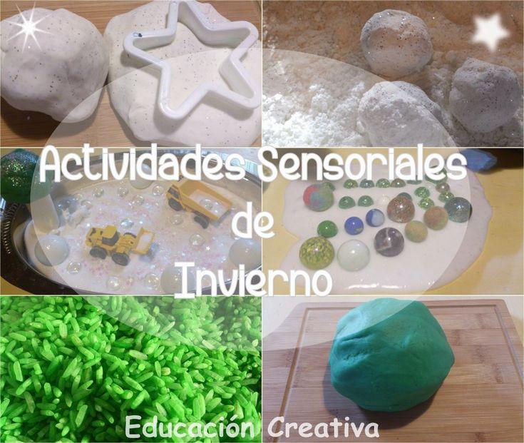 Actividades Sensoriales de Invierno