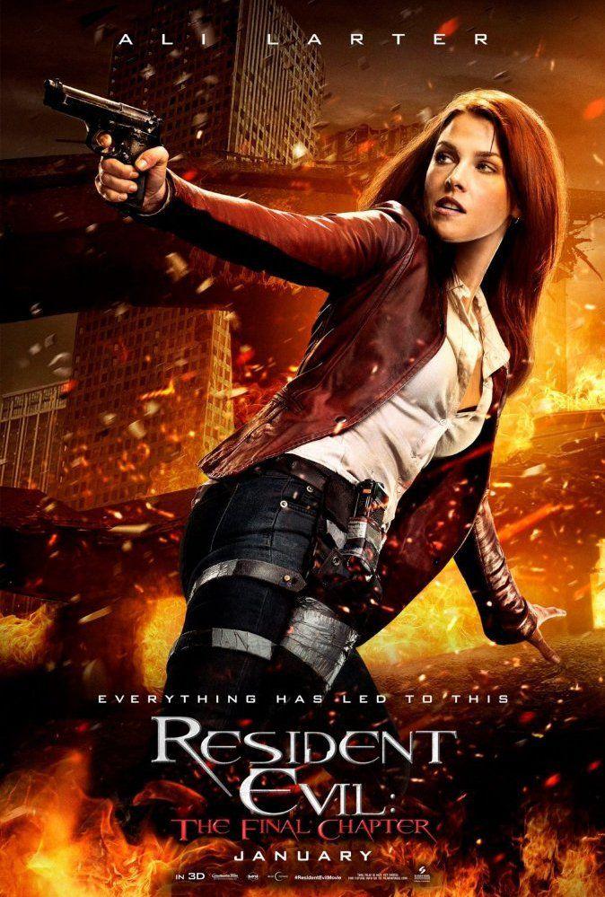 Resident Evil 6: O Capítulo Final, novo filme baseado na famosa franquia de videogames da Capcom que prometeencerrar a saga de Alice (Milla Jovovich), teve divulgados cinco cartazes de pers…