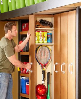Sliding storage = More convenience, more space  The rollout shelves provide better access and make small stuff easier to find. They're versatile, too. You can set the divider wherever you want to create different-depth shelves.