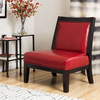 Connor Burnt Leather Chair (Burnt Red). Red Leather ChairLeatherAesthetic  ValueShort LegsLiving Room Chairs