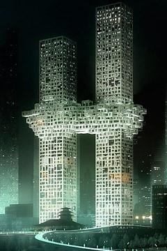 Critics Say Korean Skyscraper Design Evokes Exploding Twin Towers    Read more: http://newsfeed.time.com/2011/12/12/critics-say-korean-skyscraper-design-evokes-exploding-twin-towers