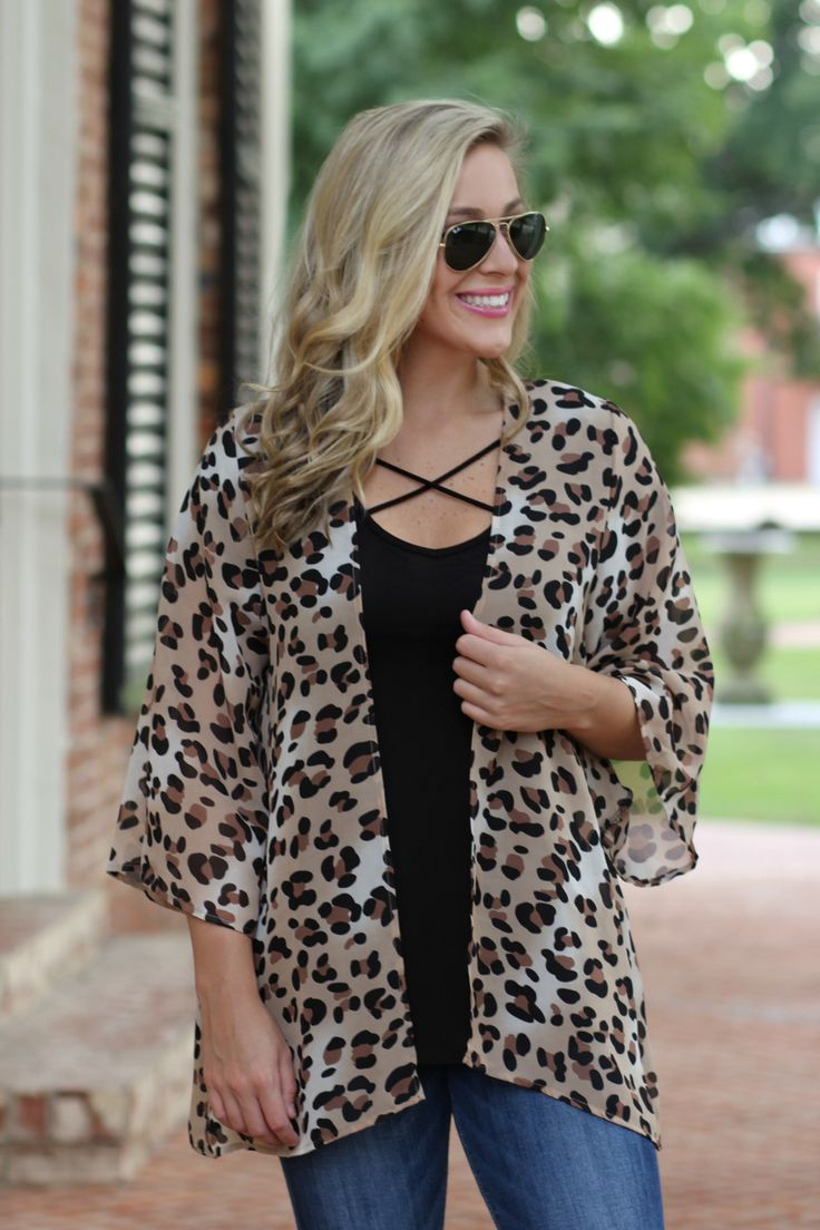 Lavish Boutique  - All My Love Kimono: Leopard Print , $34.99 (http://lavishboutique.com/all-my-love-kimono-leopard-print/)