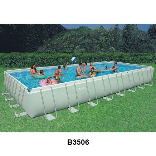 Amazing Intex Ultra Frame Above Ground Swimming Pools