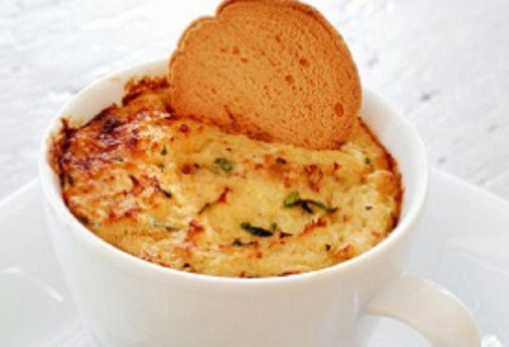 Recette : Omelette dans une tasse.
