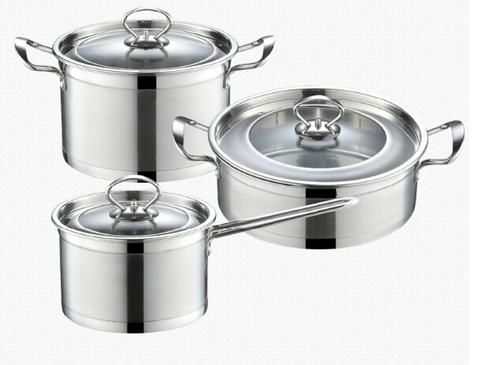 The at an affordable price - Stainless steel cookware set casserole pans and pots 3pcs cooking - You can get it here - http://www.bettermekitchen.com