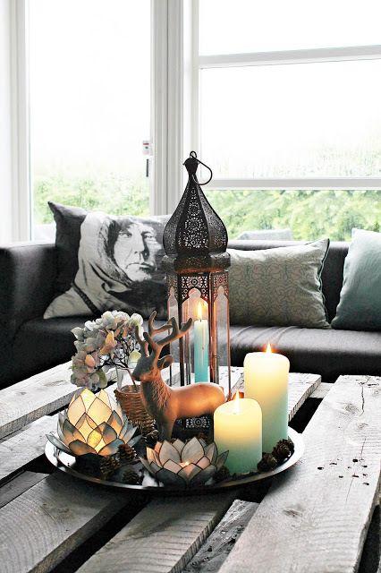 detalles en sala menta y gris | Casa Haus