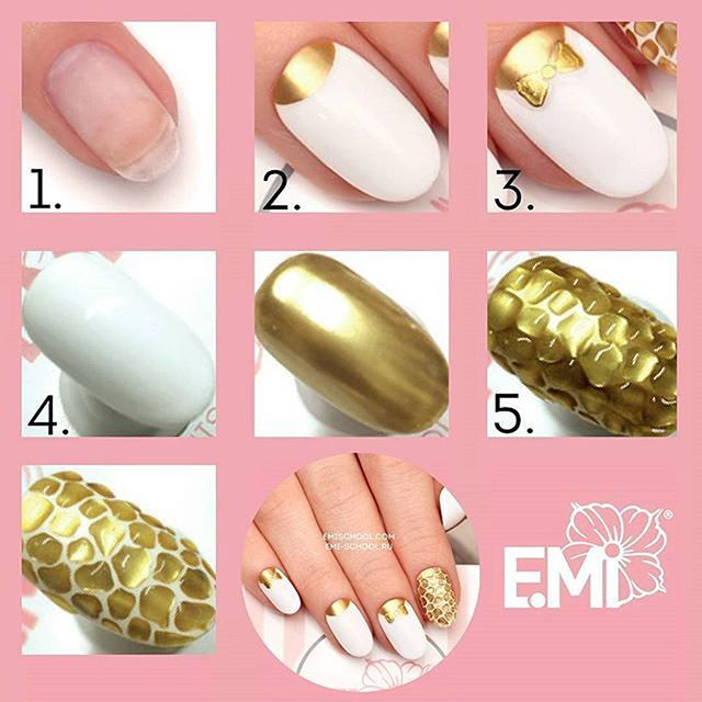 Step by step guide of creating #emimanicure 1. Prepare artificial nails for coating: file, polish and remove grease. ... #Emimanicure step by step guides • nail designs diy step by step • easy nail designs diy • cute nail designs diy • nail designs diy floral • simple nail designs diy • nail designs diy tutorial • nail designs diy sharpie • unique nail designs diy