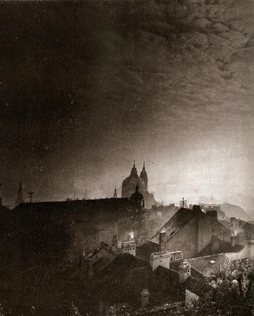 Night Prague by Jiří Všetečka