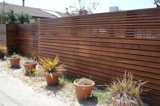 Top 60 Best Modern Fence Ideas: Best 20+ Modern Fence Ideas On Pinterest