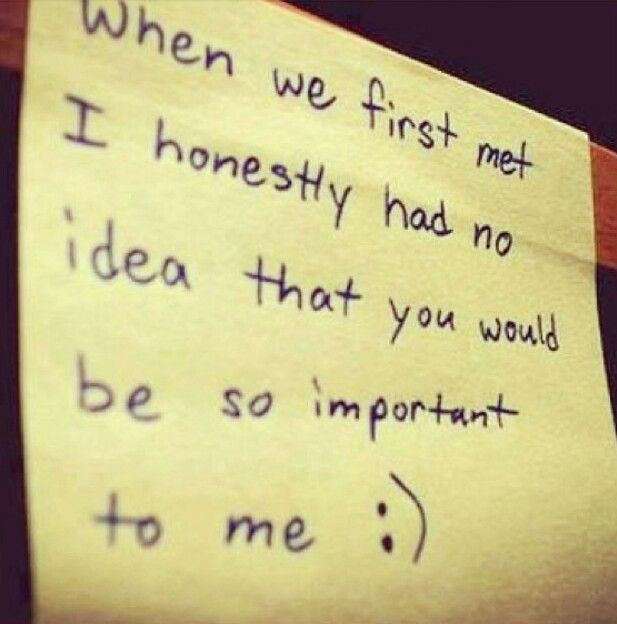 When We First Met I Honestly Had No Idea That.   Love Quotes Plus