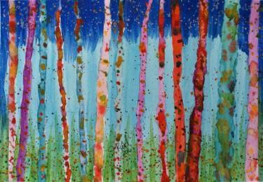 Mystical Birches