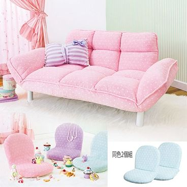 Super cute pastel couch. Is it possible to make this? It looks pretty simple I think.