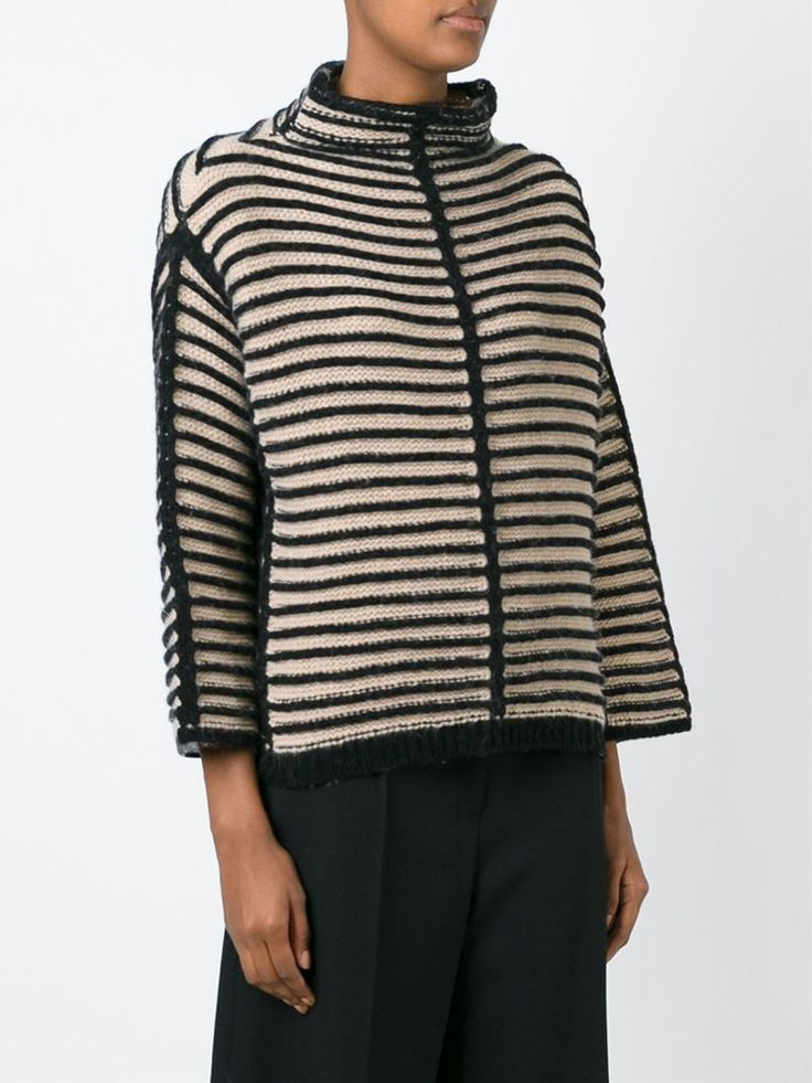 Antonio Marras contrasting striped sweater