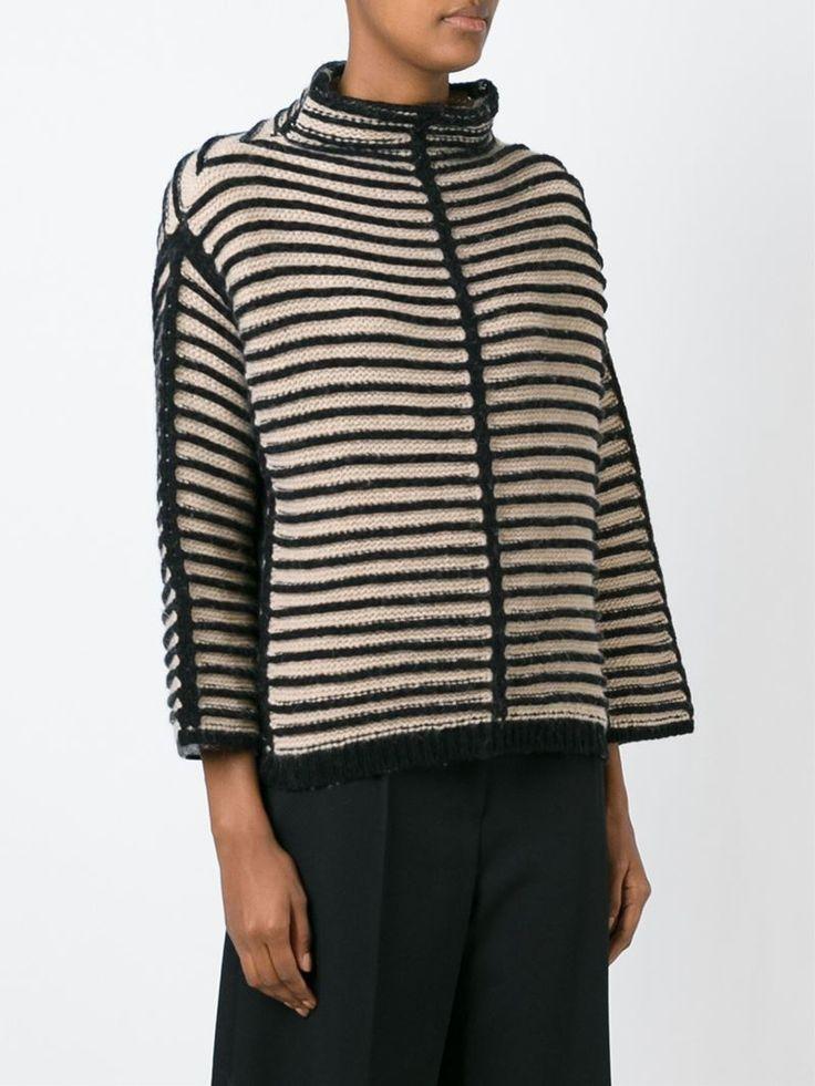 Antonio Marras contrasting striped sweater