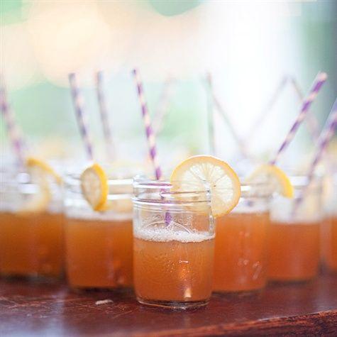 Signature Cocktail: Seersuckers- pineapple juice, sweet tea vodka, and Sprite