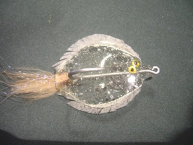 Realistic Baby Fingerling Flounder for Saltwater - FlyTyingForum.com - Chatham glass Flat