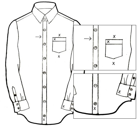 1000 images about embroidery on pinterest embroidery for Dress shirt monogram placement