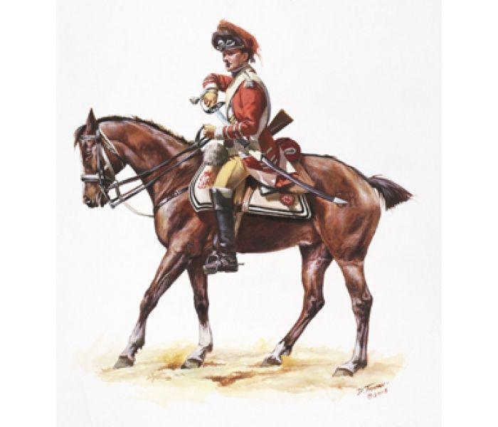 uk light dragoon guards 1780 american war of independence - Google Search