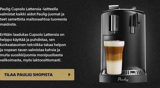 Cupsolo | Paulig.fi