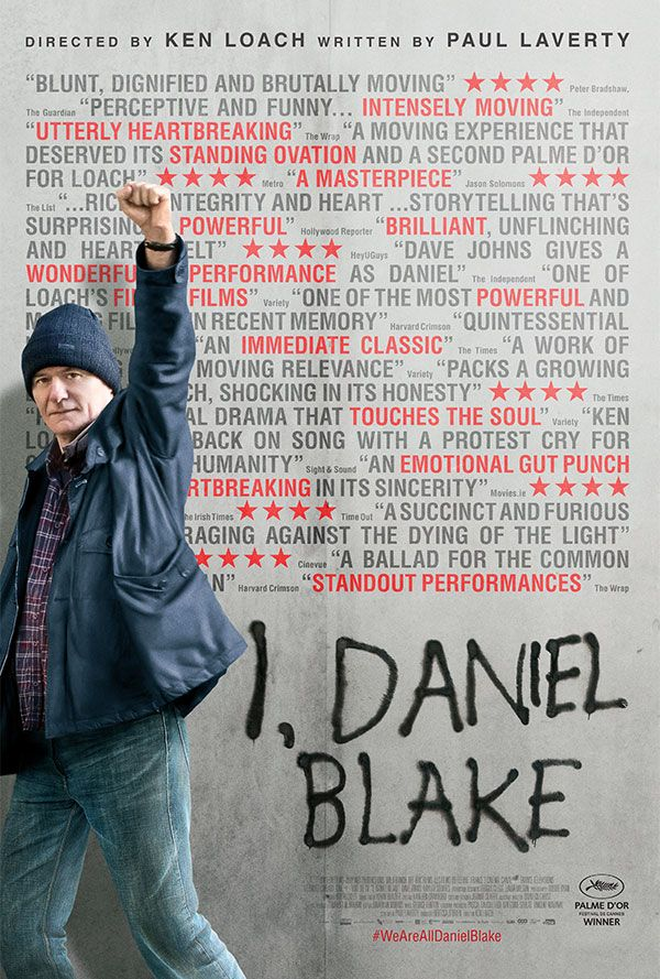 Thanks Ken Loach for this. It appears I might have watched the best film I am going to watch in 2017 (got to it a bit late, sorry) already. On Jan 4th. Thanks very much. Do see it though, right now.