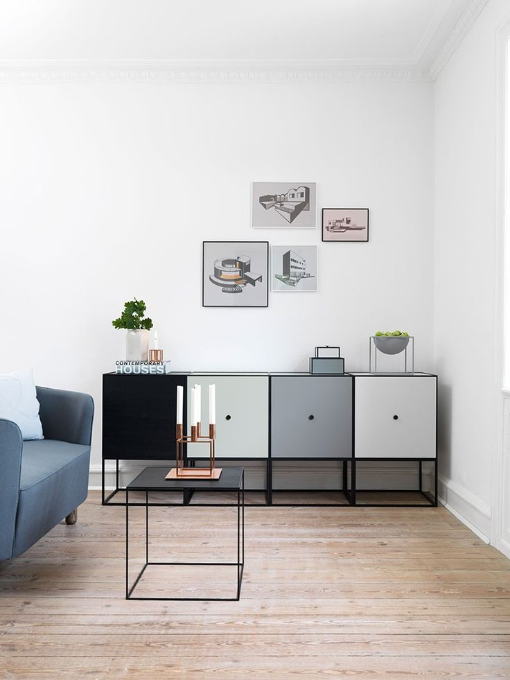 If you are looking for an appealing and modern storage solution, you have to check out the Frame Storage. The cubist inspired furniture received the 2016 German Design Award and can definitely upgrade any environment.