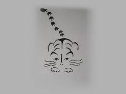 Line Drawing Of A Tiger S Face : Best tattoo images baby tigers cats and chinese