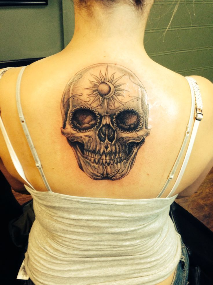 180 best images about tattoos on pinterest for Skull sun tattoo