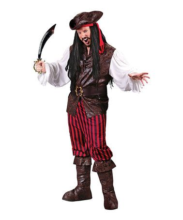 Take a look at this Pirate Dress-Up Set - Men by Fun World on #zulily today!